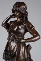 Large 19th Century French Bronze Sculpture of Female - Signed A.Gaude (9 of 9)
