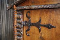 Antique Rustic Swiss Log Cabin Hanging Cupboard (4 of 7)
