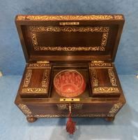 Regency Rosewood Twin Canister Tea Caddy (11 of 23)