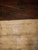 1440 A.D Medieval James ll of Scotland Period Vellum Document (3 of 13)