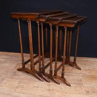 Regency Nest of Tables Antique Circa 1920 (5 of 8)