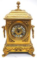 Fine Antique French 8-day Striking Mantel Clock - Sought Solid Bronze Ormolu Case (2 of 11)