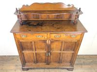 Antique Arts & Crafts Oak Sideboard Cupboard (4 of 11)