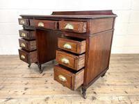 Antique Mahogany Small Desk (9 of 10)