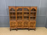 Shapland & Petter Burr Walnut Bookcase (2 of 23)
