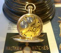 Antique Waltham Pocket Watch 1909 Ladies 7 Jewel 9ct Gold Filled Case With Curious Inscriptions Fwo (10 of 12)