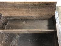 Antique 18th Century Welsh Oak Mule Chest (4 of 20)