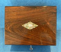 Victorian Rosewood Jewellery Box (6 of 15)