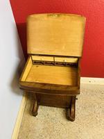 Walnut and Ambonya Davenport Desk (6 of 15)