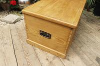 Lovely Restored Pine Blanket Box / Chest / Trunk / Coffee Table (5 of 8)