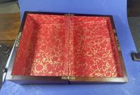 William IV Pewter Inlaid Rosewood Box (10 of 18)
