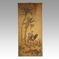 Pair of Large Antique Painted Wall Panels (4 of 10)