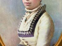 Fine Quality 19th Century Antique English Porcelain Plaque Portrait Painting c.1870 (7 of 11)