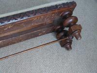 Victorian Mahogany Framed Foot Stool (5 of 6)