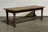Rustic French Oak 19th Century Farmhouse Kitchen Table (22 of 31)