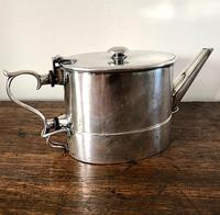Unusual Indian Silver Plated Campaign Teapot c.1884 (6 of 6)