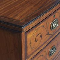 Inlaid Satinwood Chest of Drawers by S & H Jewells (5 of 14)