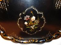 Large Victorian Papier Mache Tray (5 of 6)