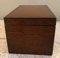 Small Oak Box - Possibly A Tea Caddy (7 of 8)
