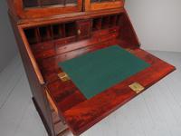 Antique George III Mahogany Bureau Bookcase (9 of 12)
