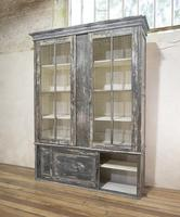 Large Scale 19th Century Painted Housekeepers Cupboard (6 of 17)