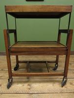 Vintage Metamorphic Oak Tea Trolley Table by Besway (11 of 18)
