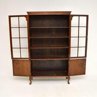 Antique Burr Walnut  Bookcase (6 of 9)