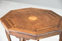 Edwardian Octagonal Centre Table (5 of 11)