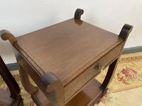 Vintage French Mahogany Bedside Tables (11 of 14)