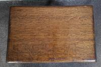 Solid Oak Stool / Occasional Table (9 of 9)
