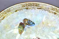 Wedgwood Dragon & Butterfly Lustre Ogee Shaped Pedestal Bowl (8 of 9)