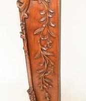 Carved Italian Grandfather Clock Walnut Cherubs (15 of 16)