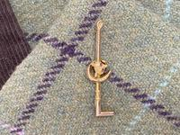 Edwardian 9ct Gold & Ruby Stock Pin (3 of 6)