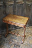Oak Occasional Side Tea Table (9 of 9)