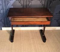 Victorian Mahogany Side Table (5 of 9)