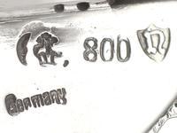 German Silver Pepperette - Antique c.1900 (7 of 9)