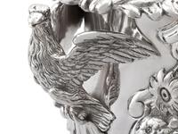 Antique George III Sterling Silver Wine Cooler (11 of 18)