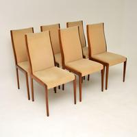 Set of 6 Danish Rosewood Vintage Dining Chairs (2 of 11)