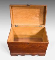 Mid 19th Century Teak Rectangular Lidded Box (4 of 5)