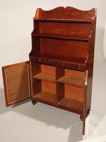 An elegant George III Period Mahogany Waterfall Bookcase (2 of 6)