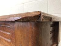 Long Victorian Mahogany Hall Bench (5 of 11)