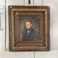 Antique Belgian Flemish Oil Painting Portrait of Polydoor Lippens (2 of 10)