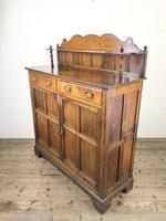 Antique Arts & Crafts Oak Sideboard Cupboard (10 of 11)
