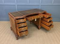 Burr Walnut Pedestal Desk by Maple and Co (14 of 18)