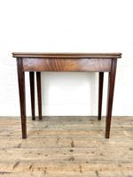 Antique Mahogany Fold Over Table (2 of 10)