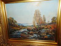 Oil Painting Arran by Archibald Kay. Dated 1927 (7 of 7)