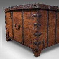 Antique Merchant's Chest, Oriental, Solid Teak, Trunk, William III c.1700 (12 of 12)