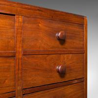 Antique Butler's Cabinet, English, Walnut, Estate, Chest of Drawers, Victorian (10 of 13)