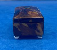 Tortoiseshell Miniature Casket (6 of 10)