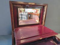 Superb Victorian Rosewood Fitted Jewellery Box (8 of 9)